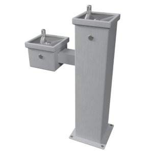 3D drinking fountain