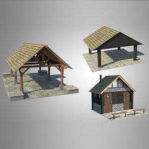 accessory park 3D model