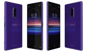 sony xperia 1 purple model