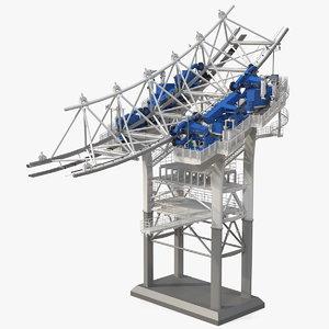 ferris wheel fragment 3D model