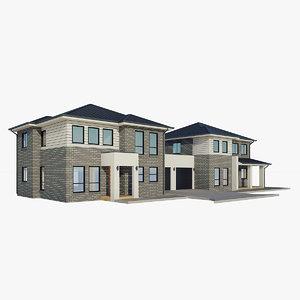3D storey house 2