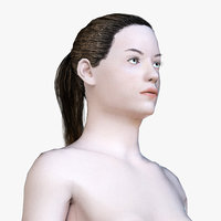 Human Female Body (Low Poly)