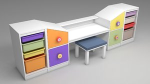 3D rooms toys