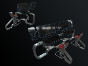 stations pbr 3D model