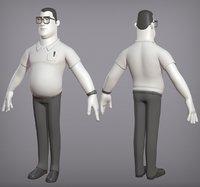 Male cartoon character Ben