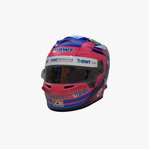 3D perez 2020 helmet