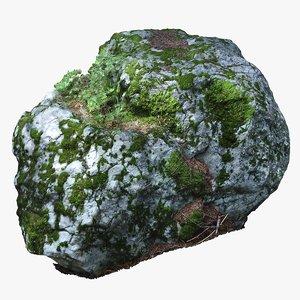 scan rock 3D