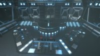 Lowpoly Scifi Control Room