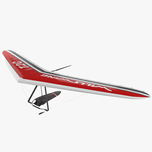 3D hang glider wills model