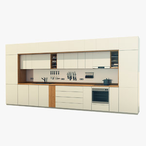 kitchen furniture set 2 model
