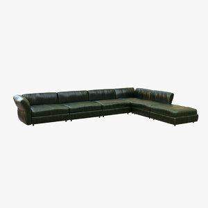3D sofa v10
