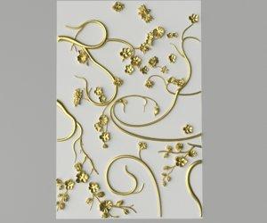 ornament classic decor 3D