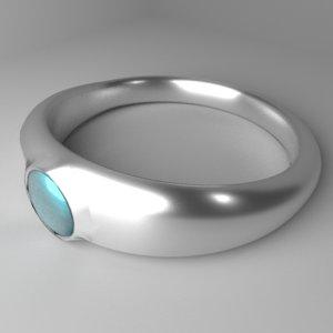 silver ring 5 model