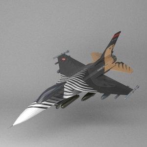 3D f16 solo turk