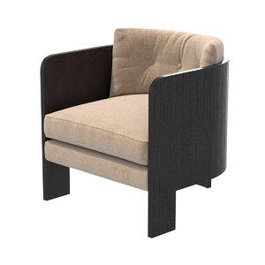 3D chair ojai tub