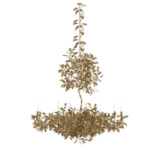 chandelier lighting golden oak model