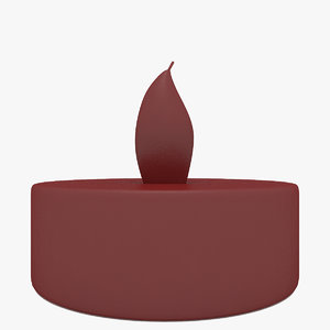 candle decor 3D model