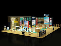 Booth Exhibition Stand a242