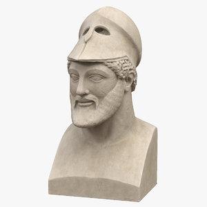 3D warrior helmet