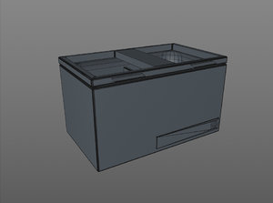 3D floor frig