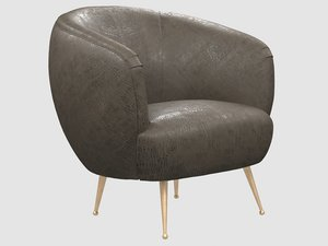 souffle chair unruched kelly model