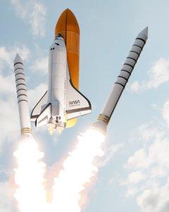 endeavour space shuttle hd 3D