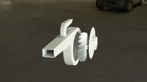 diy air plower 3D model
