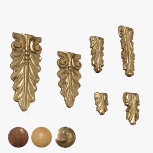 3D model architectural elements