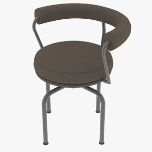 le corbusier chair lc7 3D model