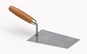 bucket trowel 3D model