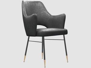rigby chair kelly wearstler 3D model