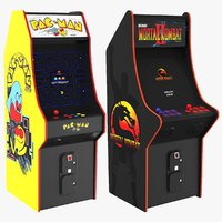 Two Arcades Video Games