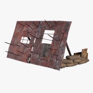 props shield surviving 3D model