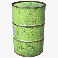 Scanned Barrel Green