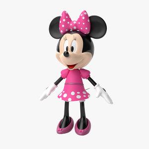 3D model minnie mouse film