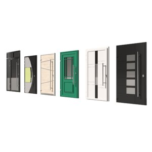 pack doors 3D model