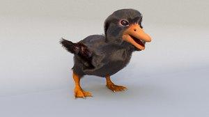 duck duckling 3D