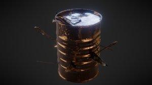 nail bomb 3D model