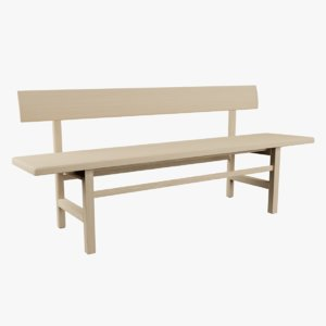 3D mogensen bench model