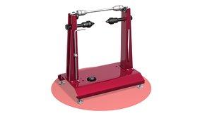 balancing wheels 3D model