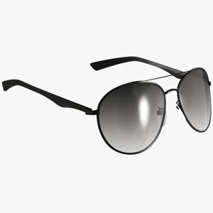 3D model realistic sunglasses 1