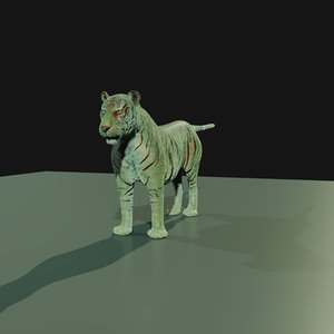 rig advanced tiger blender 3D