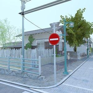 3D block japanese - model