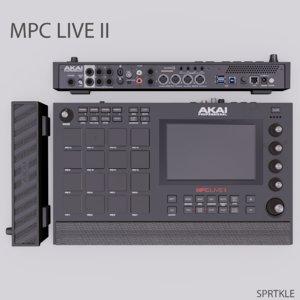akai mpc live ii 3D model