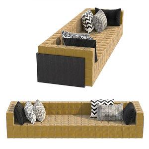 3D model sofa casa cor guilherme