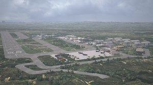 3D military base