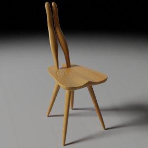3D model fenis chair