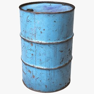 3D scanned barrel model