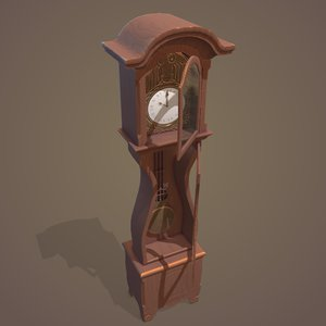 clock old 3D