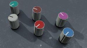 3D ssl knobs